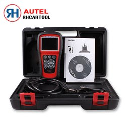 Wholesale Transmission Scan Tools - Wholesale-2016 Hot Sell Autel MaxiDiag Elite MD802 Scan Tool For All System+DS model+Engine+Transmission+ABS Airbag+EPB+OIL Service Reset
