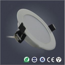 Wholesale Energy Saving Ceiling Led Panel - Super bright LED straw downlight 5W SMD5730 Recessed energy saving light AC85-265V LED panel light ceiling spotlights CE RoHS certificate