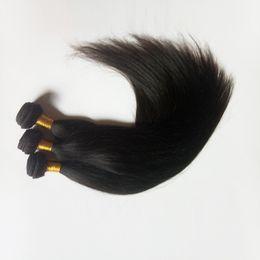 2019 бразильские прямые волосы remy bulk Бразильские Виргинские прямые волосы для фабрики в Навальном естественном цвете и черноте #1 #1b Unprocessed выдвижения утка волос Indin remy в штоке скидка бразильские прямые волосы remy bulk