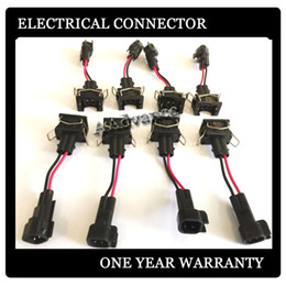 Wholesale Electrical Wire Fitted - EV1 Female to EV6 male oem electrical wiring harness connectors Fits fuel injectors