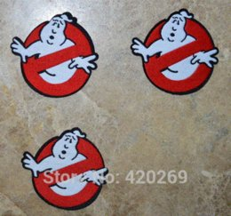 Wholesale Ghost Busters - ~Embroidered Ghostbusters Ghost busters Sew on or Iron On Patch~ Wholesale DIY accessory Applique Badge M63505