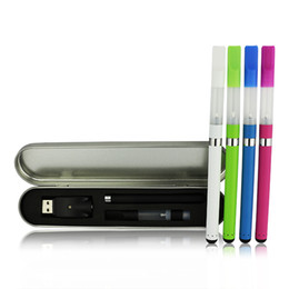 Wholesale Electronic Cigarette Disposable Kits - Colorful Bud Touch Starter Kits O Pen CE3 Atomizers CBD Hemp Oil Wax Mini Tank 280mah battery Vaporizer Disposable Electronic Cigarette
