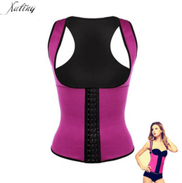 Тренировочное нижнее белье онлайн-Wholesale-hot Sell shapers waist trainer waist cincher women's waist training corsets Postpartum Tummy Trimmer Shaper Slimming underwear