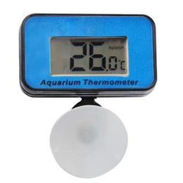 Wholesale Aquarium Thermometer Submersible - Aquarium Fish Tank LCD Digital Submersible Waterproof Thermometer Immersible
