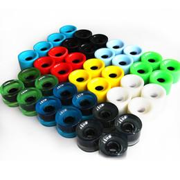 Wholesale Skateboard Blanks - 4PCS 70mm Longboard Wheels Wear Resistant PU material Wheels 78A Blank Soft Wheels