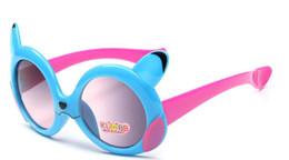 Wholesale Kids Polarized Sunglasses - Kids Children Sunglasses Boys Girls Summer Polarized Glasses Kids Anti UV Sunglasses Fashion Poke Pikachu Children Boys Girls Sunglasses