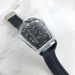 Wholesale Fold Cars - HB Luxury Brand Limited Edition Sport Car Men's Fashion Wristwatch Transparent Mirror Quartz Watch Clock Best Gift Watch