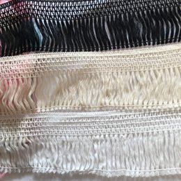 Wholesale Woven Trim - (6 yards lot) cotton craft trims 10 cm width lace zakka patchwork handmade weave sewing accessories fringe tassel trims and tassels dress