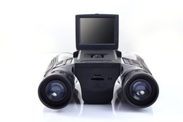 Wholesale Camp Definition - FS608R 2 inch screen LCD HD high-definition 720P digital camera double tube telescope