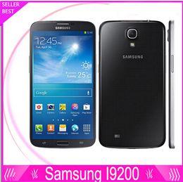 Wholesale Dual Camera 2g - Samsung Galaxy Mega 6.3 i9200 Unlocked 2G&3G GSM Mobile Phone Dual Core 6.3'' WIFI GPS 8MP 16GB refurbished cellphone