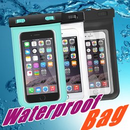 Wholesale Universal Underwater - For iphone 6 Universal Clear Waterproof Pouch Case Water Proof Bag Underwater Cover For iPhone6 plus 4 5 Samsung S6 S5 Note 4
