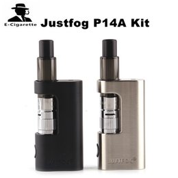 Wholesale Micro Batteries - Original Justfog P14A Kit 900mAh Battery Micro 5 PIN Charging 1.9ml P14A Clearomizer with 1.6ohm Coil 100% EU TPD Compliant 2245014