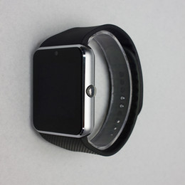 Wholesale Message Tags - Watch GT08 Clock With Sim Card Slot Push Message Bluetooth Connectivity Android Phone Better Than DZ09 Smartwatch