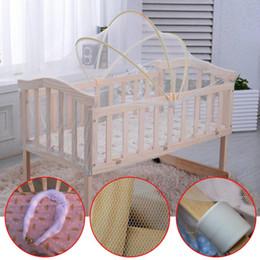 2019 großhandel baby cradles Großhandels- Universal Baby Cradle Bett Zelt Sommer Baby Safe Baby Bett Moskitonetz günstig großhandel baby cradles