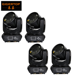 Wholesale rohs china - China Supplier 4 Pack Sharpy 6x25W Beam Moving Head Light DJ Equipment American Luminus LEDs 16 bit Dimming System 6 Eyes Beam 180W CE ROHS