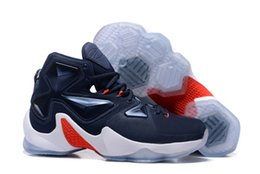 Wholesale Football Boots Usa - LB 13 Akronite Away Balance Midnight Navy USA Blue Lagoon Written In The Stars Sneakers Basketball Sport Shoes Eur 40-46 For Men