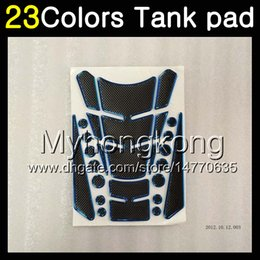 tank pads Promo Codes - 23Colors 3D Carbon Fiber Gas Tank Pad Protector For KTM 390 200 125 690 Duke R 390Duke 200Duke 1290 Super DukeR 200DUKE 3D Tank Cap Sticker