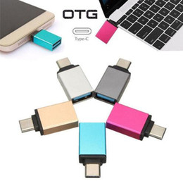 Wholesale Usb For Apple - USB-C 3.1 Type C Male to USB 3.0 Female Adapter Converter for Apple Macbook 12