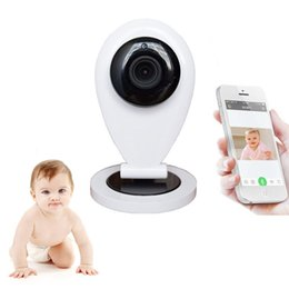 Wholesale Intercom Electronic - HD 720P Wireless Wifi Video Baby Monitor IP Camera Electronic Babysitter Nanny With Motion Detection Email Alarm Intercom