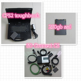 Wholesale Mercedes Star Sd Connect - CF-52+ MB Star C5 SD Connect + SSD 2017.07 Xentry Diagnostics System Compact 5 for Mercedes Diagnosis Multiplexer For Benz Diagnose