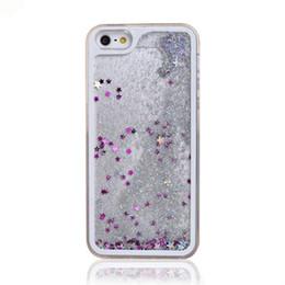 Deutschland China Großhandel 3D Flüssigkristall Treibsand Fall für iPhone 5 6 Liquid Sand Handy Cover Fall Versorgung