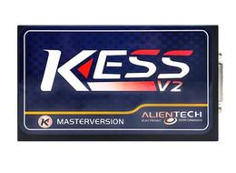 Wholesale Engine Tuning - 2017 Latest KESS V2 V2.23 FW V4.036 Highest quality OBD2 Tuning Kit NoToken Limit Kess V2 Master Master version free ship