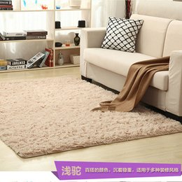 Wholesale Wool Table Mat - Factory direct thickening of washed silk wool carpet living room bedside table yoga mats can be customized