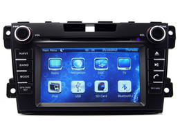Wholesale Car Dvd Tv Gps Bluetooth - In Dash Car DVD Player for Mazda CX-7 CX7 2009 2010 2011 2012 2013 with GPS Navigation Radio Bluetooth USB Audio Video Stereo