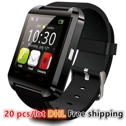 """Wholesale Hot Watches For Cheap - Wholesale 2016 Hot Cheap Bluetooth Smart Watch U8 1.44"""" Touch Screen for IOS Android Smartphone Samsung S6 Edge U80 smartwatch Free shipping"""