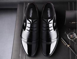 Wholesale England Shoes For Men - 2018 New concept England Mens Dress Shoe High Quality Oxford Shoes For Men Lace-Up Business men Shoes Brand Men Wedding Shoes M198