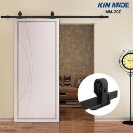 Kin Made Mm20z American Style Top Mounted Sliding Barn Door Hardware Wooden Door Fittings