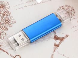 Wholesale 256gb Usb Flash Drive China - Hot sale OTG Pen Drive External Storage USB Flash Drive Memory Stick 128gb 256gb 32gb 64gb Pendrive USB 2.0 U Disk