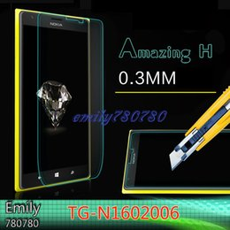 Wholesale Screen Protector For Lumia 625 - For Nokia Lumia 520 535 625 630 635 640 640XL 830 930 1520 0.26mm Premium Real Tempered Glass Screen Protector Film Cover