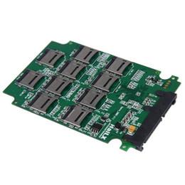 Canada En gros - Reliable Nouveau 10 x Micro SD Carte mémoire TF vers SATA Adaptateur SSD + RAID Quad 2.5