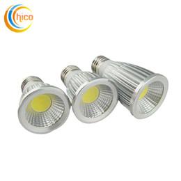 Wholesale Cob Led Spot Lamp - Super Bright Led Bulb Lights COB 3W 5W 7W MR16 E27 GU10 GU5.3 Led Spot Light Lamp 85-265V 12V