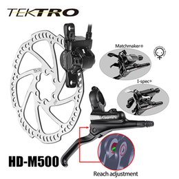 Wholesale Hydraulic Disc Brake For Bikes - TEKTRO MTB HD-M500 Hydraulic Disc Brake Lever + Caliper Aluminum Bike Brke Size 86-90mm For Sale