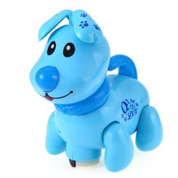 Wholesale Electronic Toys For Dogs - Hot Sale Early Educational Pet Dog Musicial Electronic Walking Robot Puppy Toy Pet Safe Preschool Toy For Kids Children