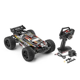 Wholesale Rtr Electric Truck - WLtoys RC Car 1:12 2.4GHz 2WD 35km h 4CH Brushed Electric RTR Monster SUV Truck RC Car Remote Control Cars Model Vehicle Toy