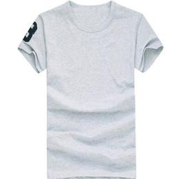 Argentina Camiseta de manga corta de algodón de alta calidad nueva camiseta de manga corta para hombres de polo Camisetas estilo casual para hombres deportivos Camisetas polos Ropa de hombre cheap polo sport clothes Suministro