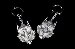 Wholesale Transformer Toy Wholesale - The Transformers Keychain,The Autobots Optimus Prime Mask Keychain,Key Rings Pendant Keychian For Men Women Toys & Gifts
