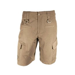 Wholesale Combat Cargo Shorts - Wholesale-NEW MENS bermuda shorts TROUSERS CASUAL MILITARY ARMY CARGO CAMO COMBAT WORK SHORTS 3 COLORS outdoor quick-drying shorts TAD