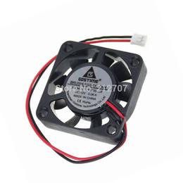 Вентилятор 4 см 12v онлайн-Wholesale- 50PCS Gdstime Mini Air Ventilation Fan DC 12V 2P 4010 40mm 4cm 40 x 10mm