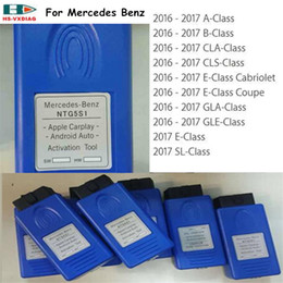 Wholesale Mercedes Star Code Reader - 2017 Apple CarPlay and Android Auto activation tool for Mercedes-Benz NTG5 S1 Update by MB STAR C4 OR sd C5 XENTRY DHL free shipping
