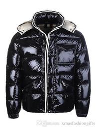 Wholesale Discount Coats For Men - Winter Down Jacket Men's Warm Brand Designer Hooded Jackets For Men Luxury Parkas Padded Plus Size Coats Discount Sale