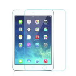Wholesale New Ipad Screen Protector - 9H Premium Tempered Glass Screen Protector Film For New iPad 2017 4 5 6 Air Air2 Mini MINI4 Pro 9.7 10.5
