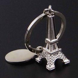 Wholesale Metal Eiffel Tower Souvenir - New 1 Pcs Eiffel Tower Keychain For Keys Souvenirs Paris Eiffel Keychain Key Chain Key Ring Decoration Key Holder
