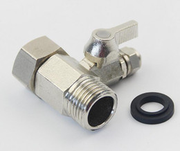 """Wholesale Valve Machine - Stainless Steel 1 2"""" turn 1 4"""" Valve Switch Water Filters Parts for Household Water Purifier Reverse Osmosis System"""