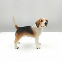 Wholesale Dog Toy Simulation Model - Big Simulation Dog Figurine Crafts Carved Glossy Model Toy Gift Decoration Figurine Crafts with Resin for Car