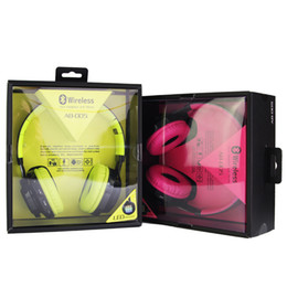 Wholesale Bass Mount - Kanen Wireless Super Bass Foldable Bluetooth Stereo Headphones Head-mounted Noise Reduction,Mp3 Players, Fm Radio,TF Card With LED Lights