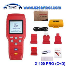 Wholesale Eeprom Obd - Wholesale-Original OBDSTAR X-100 PRO X100 Pro Auto Key Programmer (C+D) Type for IMMO+Odometer+OBD Software Support EEPROM Function